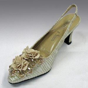 H52C  FORTUNY SLINGBACK champagne
